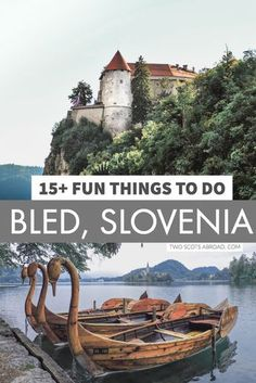 Visit the famous Lake Bled + other things to do in Bled, Slovenia. Day trip from… Visit the famous Lake Bled + other things to do in Bled, Slovenia. Day trip from Ljubljana to Bled. Visit Slovenia, Slovenia Travel, Europe Travel Guide, Europe Destinations, Europe Budget, Cool Places To Visit, Places To Travel, Time Travel, Europe Bucket List