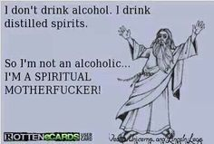 Im not an alcoholic...