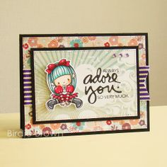 I released two new digital stamps yesterday and I'd like to share my sample cards for them today. Digital Stamps, Clear Stamps, I Card, Cardmaking, Paper Crafts, Bows, Crafty, My Favorite Things, Frame