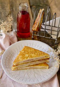 Receta 801: Emparedados de jamón de York » 1080 Fotos de cocina