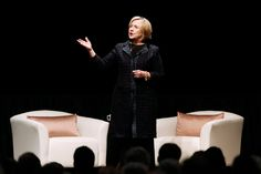 Hillary Rodham Clinton's references to being a grandmother and speeches focused on women reflect a departure from her 2008 presidential campaign strategy. Gender Examples, Hillary Rodham Clinton, Glass Ceiling, Ny Times, Campaign, Ceilings, Communication, Women, York