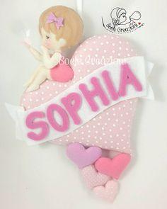 Fiocco nascita per Sophia  #teramo #abruzzo #soelecreazioni #cuore #rosa #baby #sophia #fattoamano #handmade #nascita #instamamme