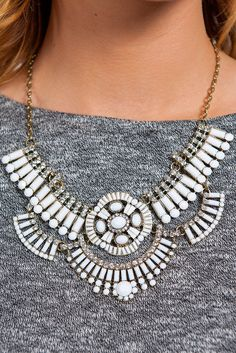 statement necklace is the perfect accessory to make any outfit amazing