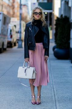 Image result for how to wear dusty pink coat