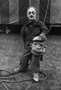 Jill Freedman, Circus Days, 1971