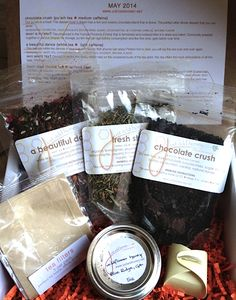 just add... a tea box – just add honey tea company. Monthly tea box from one of my faves!