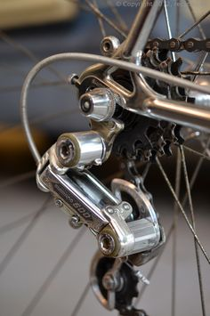 Shimano 600 Arabesque vintage racing bicylcle rear derailleur
