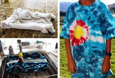 Keep the Tie Dye Your Summer campaign alive and strong with these cool tie dye projects!