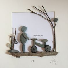 I design and create rustic gifts and décor for the home and office. Including the original AMor Rustic Arts world wide selling Pebble Pictures and batiks.
