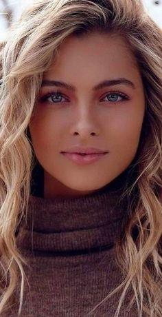 The Most Beautiful Girl, Beautiful Gorgeous, Gorgeous Women, Beauty Full Girl, Beauty Women, Photographie Portrait Inspiration, Good Looking Women, Brunette Girl, Light Hair