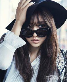 Park Shin Hye - InStyle Magazine April Issue '15
