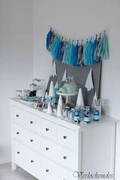 Verlockendes...: Arktis Sweet Table {Pinguin Party}