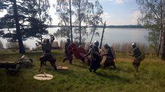 Pukkisaaren muinaismarkkinat 6-7.9 - Taistelunäytös