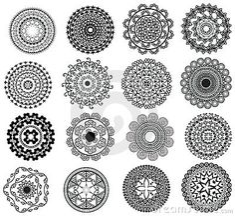 Design Mandala Vector Illustration | Small Mandala Design, easily editable.