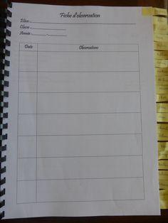 """Cahier d'observations """"observer pour évaluer"""" en TPS PS dans LACLASSE DE PEPE@over-blog.com"""