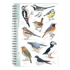 Skriv ned hvilke fugle du har spottet eller skriv melodi til deres fløjt. #Musik #Fuglesang #Blok #Noter #SPB #Smagpåbordet