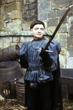 Rowan Atkinson as Prince Edmund in The Black Adder
