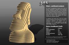 Los moai, las gigantescas estatuas de laIsla de Pascua, constituyen la expresión más importante del arte escultóricoRapa Nuiy se han convert ... #bust #cardboard #craft #DIY #lifepapercraft #moai #Pascua #rapanui Diy, Easter Island, Expressionism, Statues, Islands, Bricolage, Handyman Projects, Do It Yourself, Diys