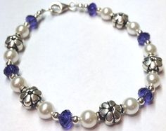 Swarovski Crystal Pearl Jewelry Beaded by SparkleAndSplendor