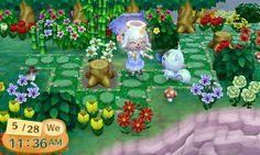 Animal Crossing: New Leaf & HHD QR Code Paths , ghastly-crossing: petal stone path