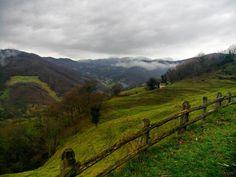 Día nublado en #Asturias
