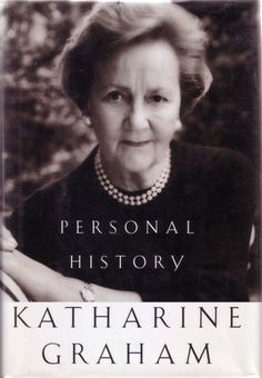 Excellent book about a remarkable woman. Katherine Graham, My Books, Good Books, What To Read, Personal History, Art Of Manliness, Memoirs, Reading, Book Lists