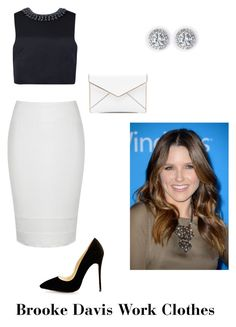 Brooke Davis Work Clothes by onetreehilloutfits on Polyvore featuring Ted Baker, Ally Fashion and Rebecca Minkoff