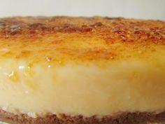 Tarta de Crema Catalana (Thermomix)