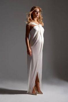 Goddess maternity dress