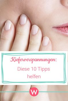 Release jaw tensions with these 10 tips Gesundheit Beauty Makeup Tips, Beauty Make Up, Beauty Secrets, Diy Beauty, Beauty Tricks, Health Diet, Health Fitness, Fitness Tips, Fitness Motivation
