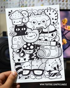 Full page marker doodle video → http://bit.ly/markerDoodle