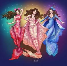 Marina and The Diamonds Marina Diamandis Neon Nature Tour three eras/acts artwork by Gabriel Marques (Mr GM)