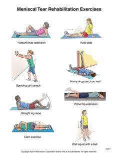 Summit Medical Group - Meniscal (Cartilage) Tear Exercises