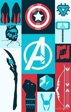 snomanoff:avengers minimalist poster - Visit to grab an amazing super hero shirt now on sale! Marvel Avengers, Marvel Comics, Marvel E Dc, Marvel Heroes, Captain Marvel, Captain America, Avengers Poster, Marvel Logo, Avengers Cast