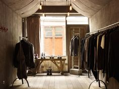 HOSTEM > The Masculine Boutique Of East London | http://www.yatzer.com/HOSTEM-menswear-East-London