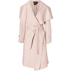 olivia pope Kerry Washington Salvatore Ferragamo Cream Pearl Cashmere And Wool Blend Coat