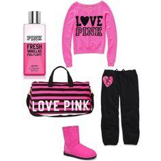 Black & pink, black & pink,blaaaack & pink!