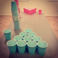 Omg this is hilarious! boy vs girl beerpong
