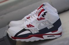 "Nike Air Trainer SC High ""White, Grey & Red"""