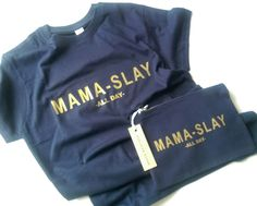 Excited to share the latest addition to my #etsy shop: Mama-slay makeup bag - Lipsense Holder - Canvas bag - Slogan - Cosmetic Bag - Gold - Mum - Gift - Mother - Positive Quote - New mums - Slay #bagsandpurses #blue #mothersday #gold #makeup #bag #makeupbag #etsyshop #boss #mum #bossbabe http://etsy.me/2hJpvsu