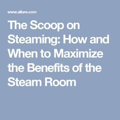 Steam Rooms: Health Benefits | Steam room benefits, Steam room and ...