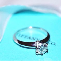 Tiffany Co.  Now that is my idea of a wedding ring!!!
