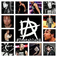 Unstable Dean Ambrose!! <3