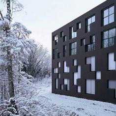 ...school building in western Switzerland