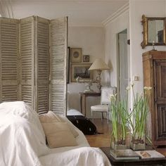 modern french interiors | Modern day French interiors that still have that effortless glamour