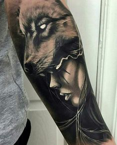 If tattoo designs is what you need, just go for it! Open the link and learn more. Wolf Tattoos, Native Tattoos, Face Tattoos, Badass Tattoos, Viking Tattoos, Animal Tattoos, Body Art Tattoos, Girl Tattoos, Tatoos