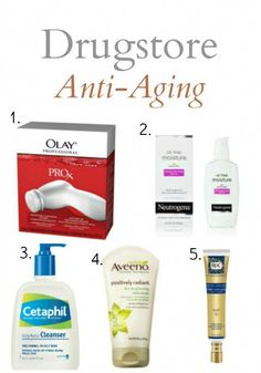 5 Drugstore Anti-Aging Products Everyone Over 30 (and Smart 20-Somethings) Should Have #BeautyTipsForMoms #SkinWhiteningHomemade #AntiAgingEyeCream Anti Aging Tips, Best Anti Aging, Anti Aging Cream, Anti Aging Skin Care, Best Skin Care Routine, Skin Care Tips, Skin Routine, Olay, Alter