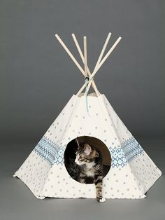 Cat Tipi Printed Cat Teepee at Free People Clothing Boutique