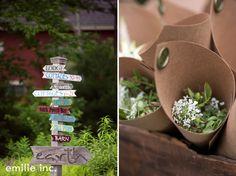 maine wedding photography blog: intimate garden wedding at Hidden Pond in Kennebunkport