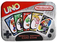 UNO Nintendo Special Edition Card Game